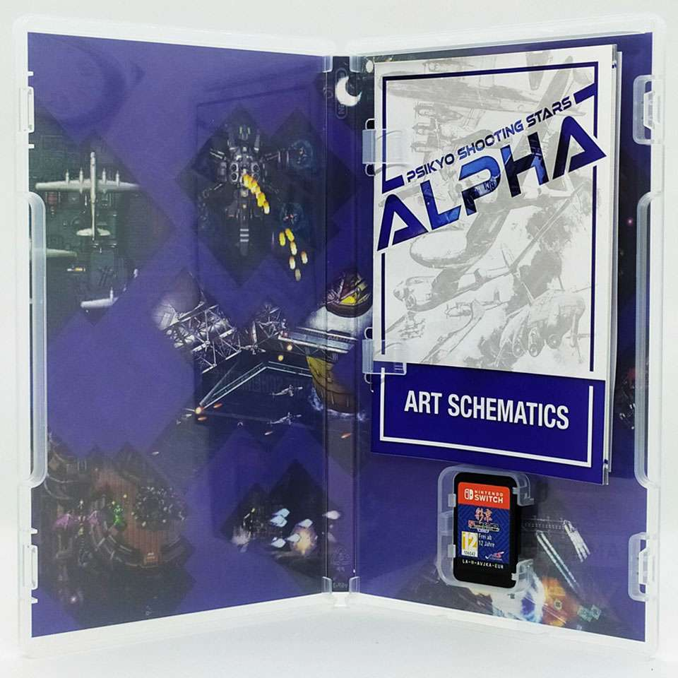 psikyo shooting stars alpha unboxing