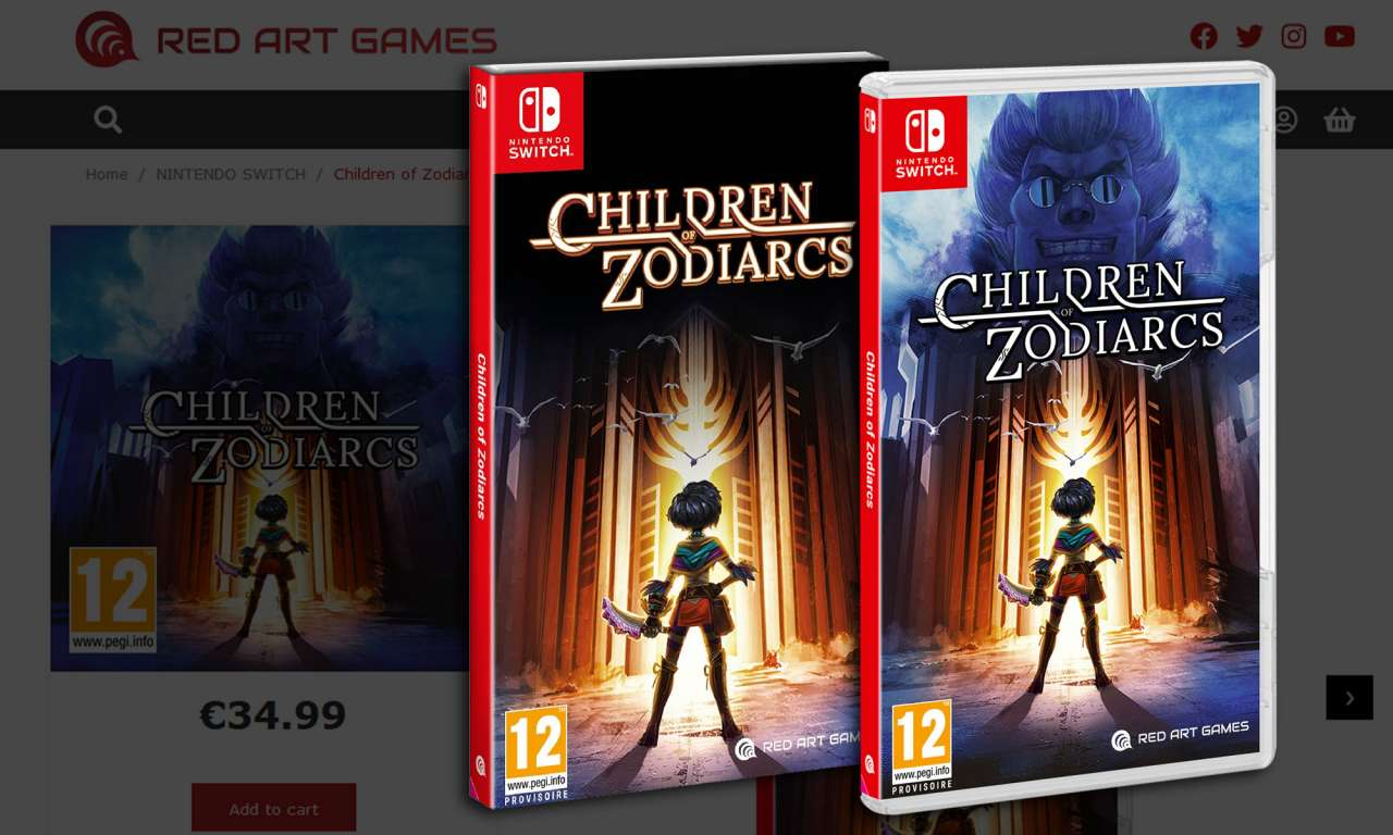 children of zodiarcs red art games