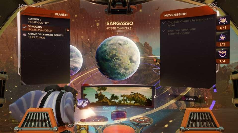 Planètes - Sargasso