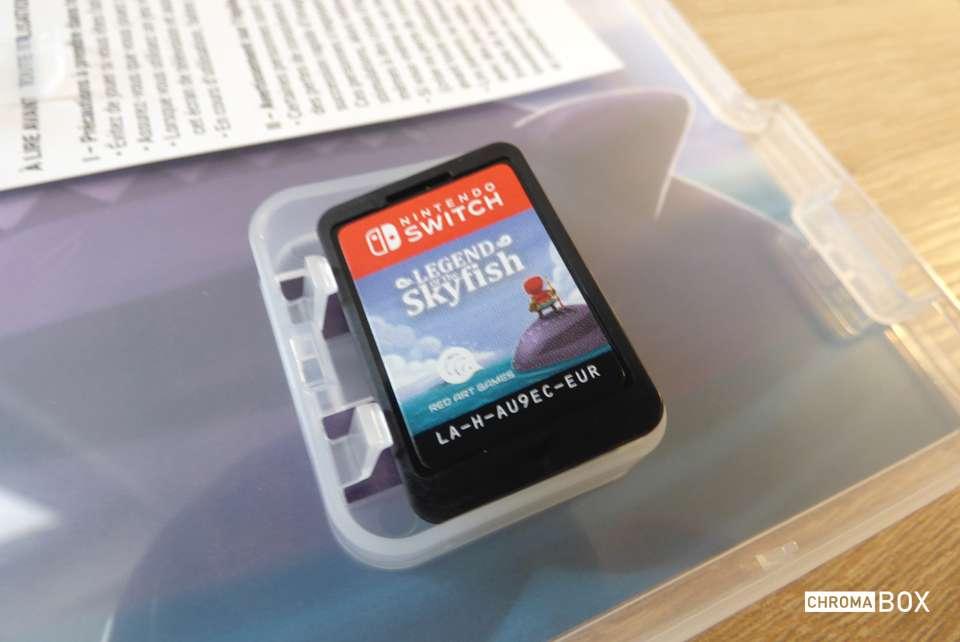 cartouche de jeu skyfish