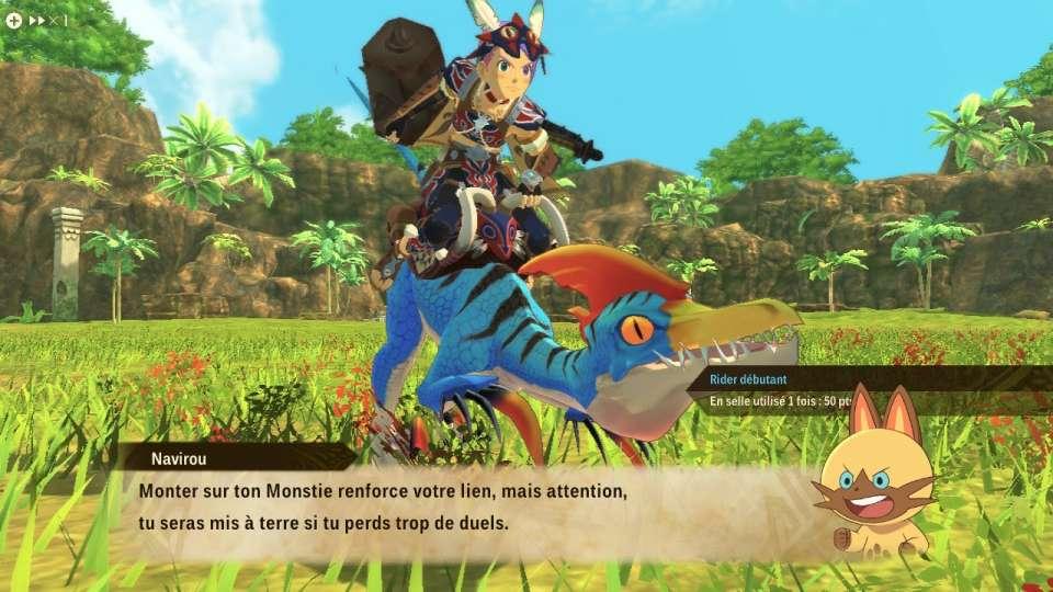 Un Rider et son Monstie