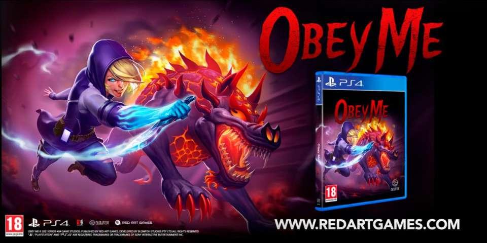 Obey Me sortira en édition physique PS4 limitée à 999 exemplaires