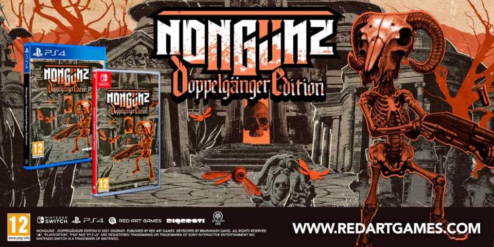 Nongunz : Doppelgänger Edition arrive sur PS4 et Switch en édition physique limitée