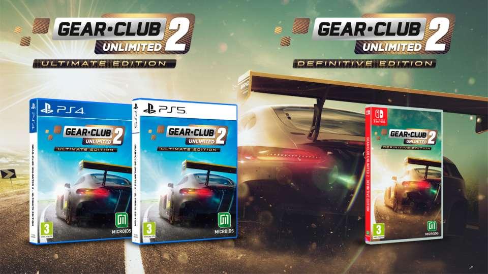 Gear Club Unlimited 2 enfin sur consoles de salon et PC