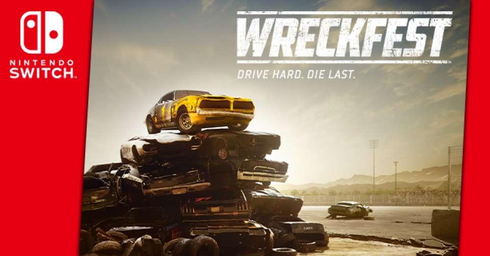 Wreckfest s'invite enfin sur Nintendo Switch