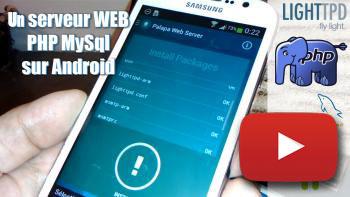 Image de couverture de Un serveur web Php Mysql sur Android