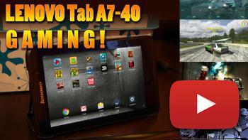 Image de couverture de Lenovo Tab A7-40 GAMING ! Tests de jeux vidéos