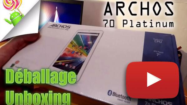 Image de couverture de Archos 70 Platinum - Unboxing et test