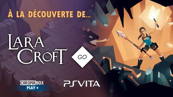 Image de couverture de Découvrons Lara Croft Go PSVita