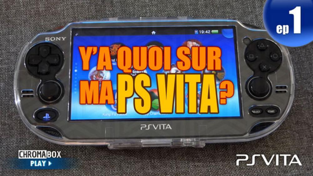 Image de couverture de Y'a quoi sur ma PS Vita ? - Episode 1