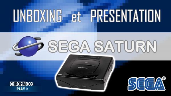 Image de couverture de Sega Saturn - Unboxing et présentation