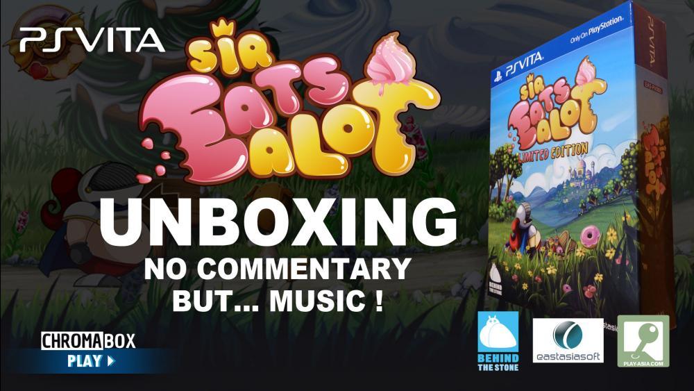 Image de couverture de Sir Eatsalot Collector Unboxing PS Vita
