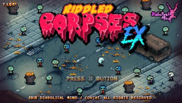 Image de couverture de Riddled Corpses EX - PSVita test + vidéo !