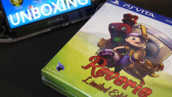 Image de couverture de Unboxing de Reverie collector PSVita