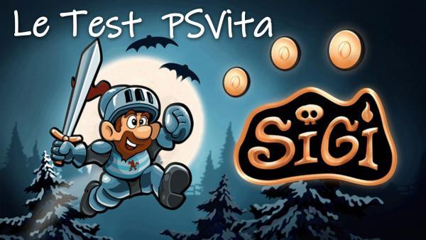 Image de couverture de Sigi sur PSVita, fais péter le test !