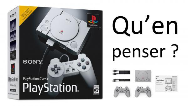 Image de couverture de La Playstation Classic - Qu'en penser ?