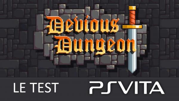 Image de couverture de Test de Devious Dungeon PSVita
