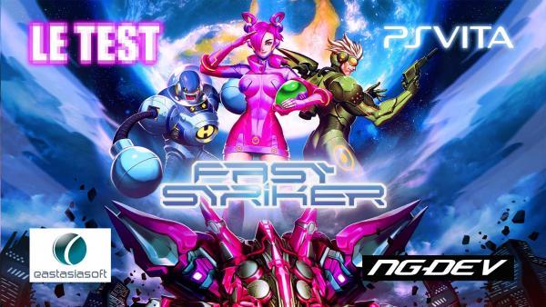 Image de couverture de Test de Fast Striker sur PS Vita, qui aime bien shoote bien !