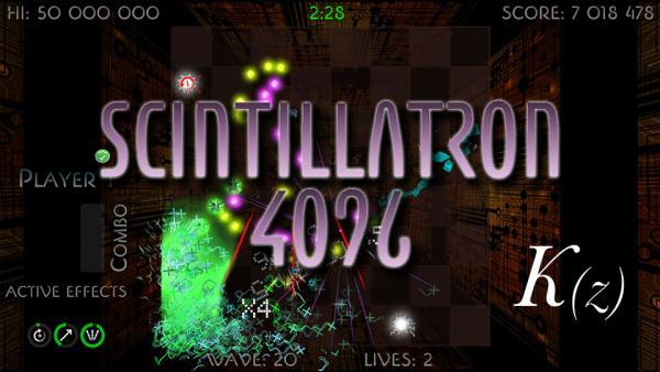 Image de couverture de Scintillatron 4096 débarque sur PS Vita en décembre !