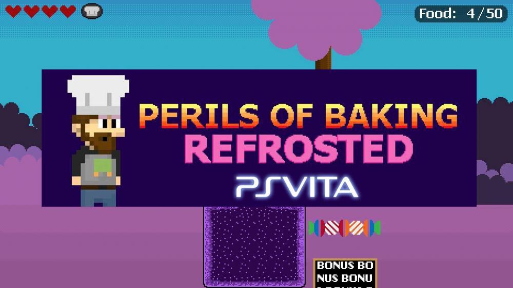 Image de couverture de Perils of Baking Refrosted annoncé sur PS Vita, c'est pour début novembre !