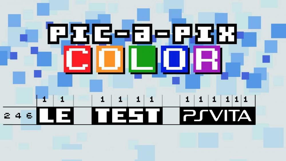 Image de couverture de Test de Pic-A-Pix Color sur PS Vita