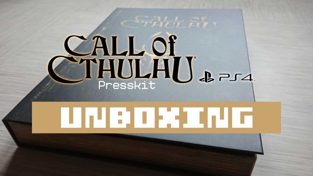 Image de couverture de Unboxing Press kit Call of Cthulhu PS4