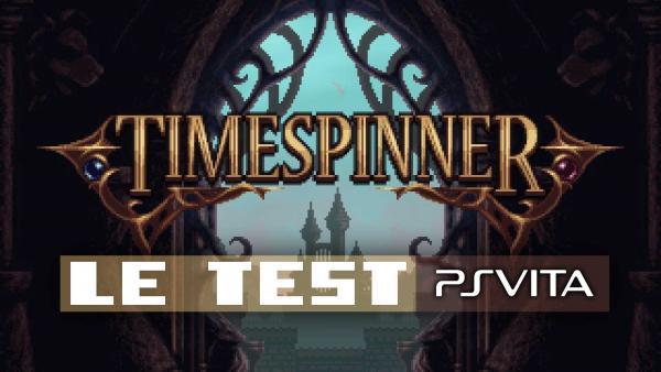 Image de couverture de Test de Timespinner sur PS Vita