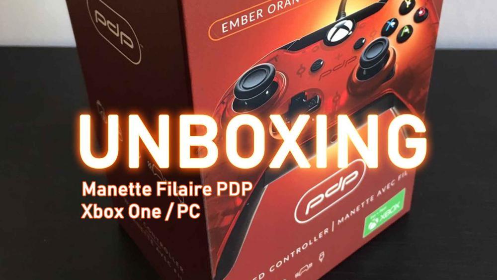 Image de couverture de Unboxing Manette PDP Xbox One et PC