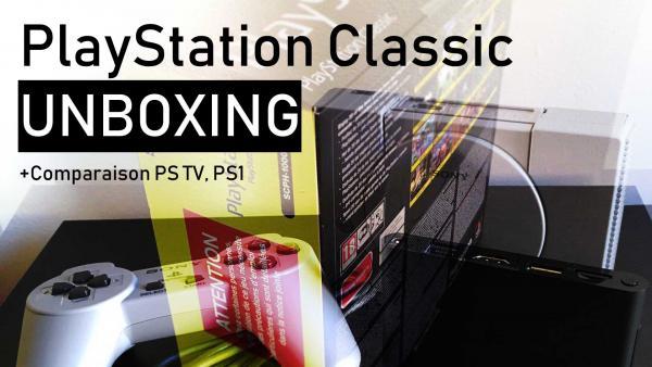 Image de couverture de Unboxing Playstation Classic et comparaison visuelle