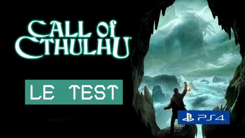 Image de couverture de Test de Call of Cthulhu sur PS4