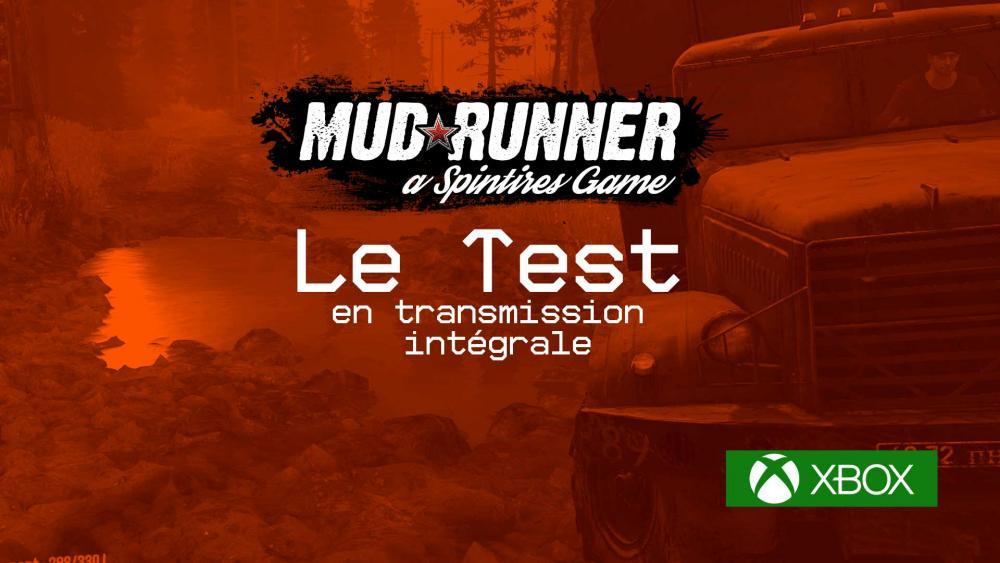 Image de couverture de Test de Spintires: MudRunner sur Xbox One