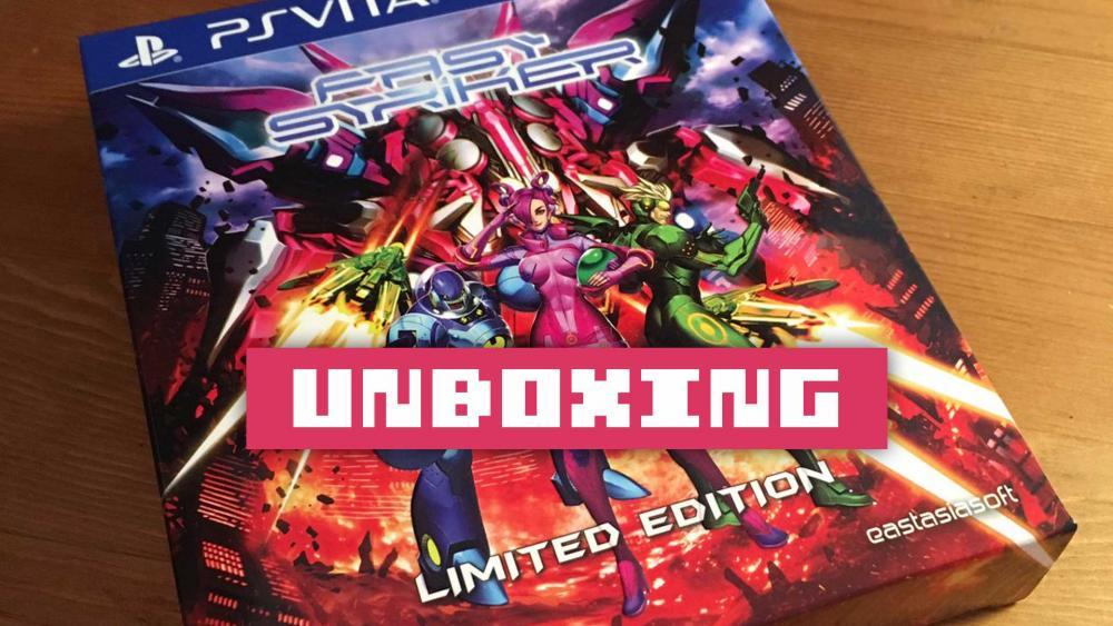 Image de couverture de Unboxing Fast Striker PS Vita collector edition limitée
