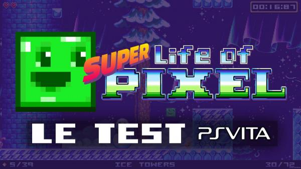 Image de couverture de Test de Super Life of Pixel PS Vita
