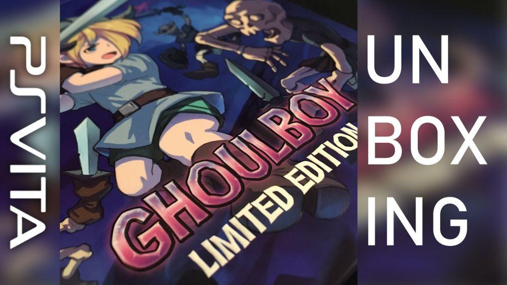 Image de couverture de [Unboxing] GhoulBoy PS Vita édition physique limitée
