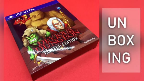 Image de couverture de [Unboxing] Devious Dungeon PS Vita Limited edition