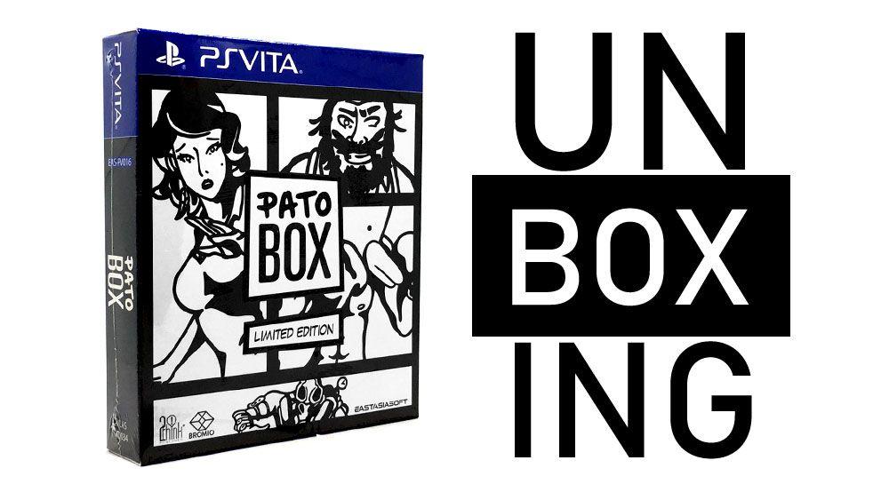 Image de couverture de [Unboxing] Pato Box PS Vita Limited edition