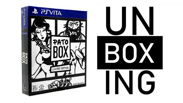 Image de couverture de [Unboxing] Pato Box PS Vita Limited edition