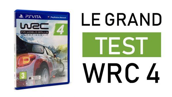 Image de couverture de [Test] WRC 4 - La PS Vita à l'épreuve de la boue
