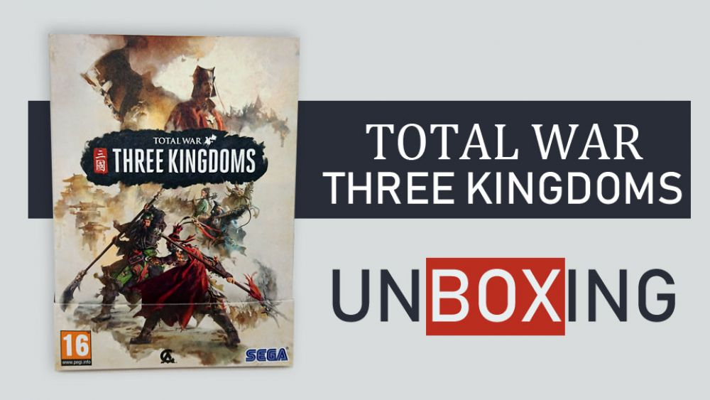 Image de couverture de [Unboxing] Total War Three Kingdoms édition limitée PC