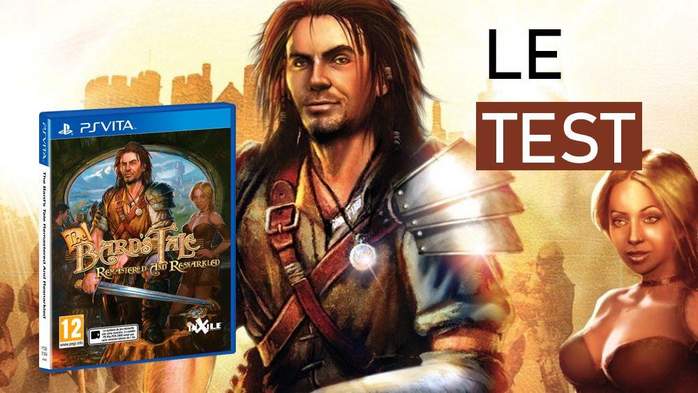 Image de couverture de [Test] The Bard's Tale Remastered and Resnarkled sur PS Vita, le cynisme sur un air de luth
