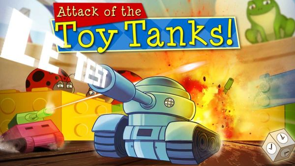 Image de couverture de [Test] Attack of the Toy Tanks - PS Vita