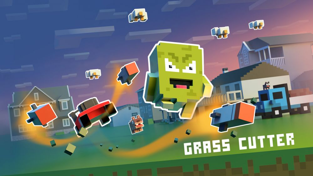 Image de couverture de [Test] Grass Cutter - Mutated Lawns sur PS Vita, il est temps de tondre le gazon!