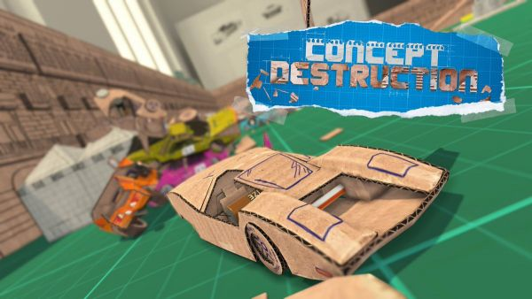 Image de couverture de Concept Destruction, le prochain (et dernier ?) jeu de course PS Vita