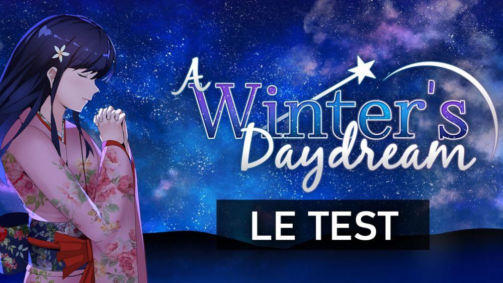 Image de couverture de [Test] A Winter's Daydream sur Switch, Le jeu qui se (lit comme un) livre
