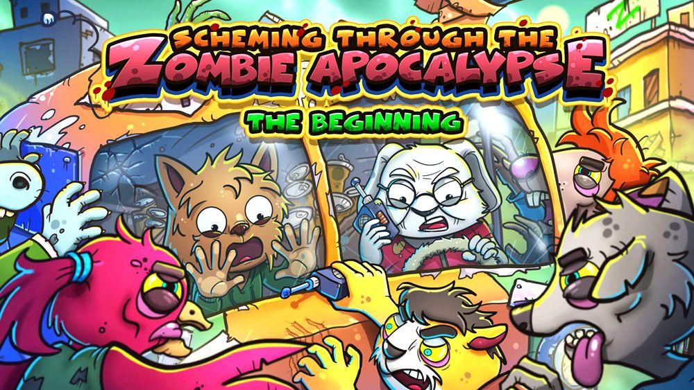 Image de couverture de [Test] Scheming through the zombie apocalypse : the beginning sur Switch