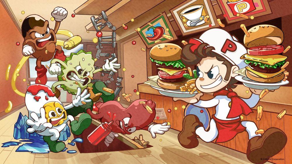 Image de couverture de [Test] BurgerTime Party! sur Switch, quelle sauce chef?