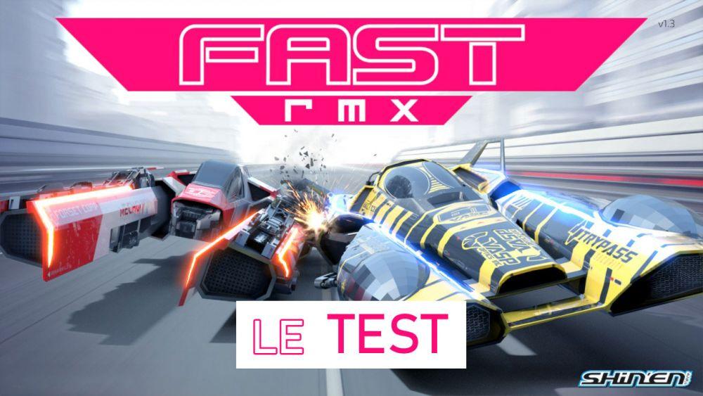 Image de couverture de [Retro test] Fast RMX sur Switch, Plein la vue et plein les oreilles !