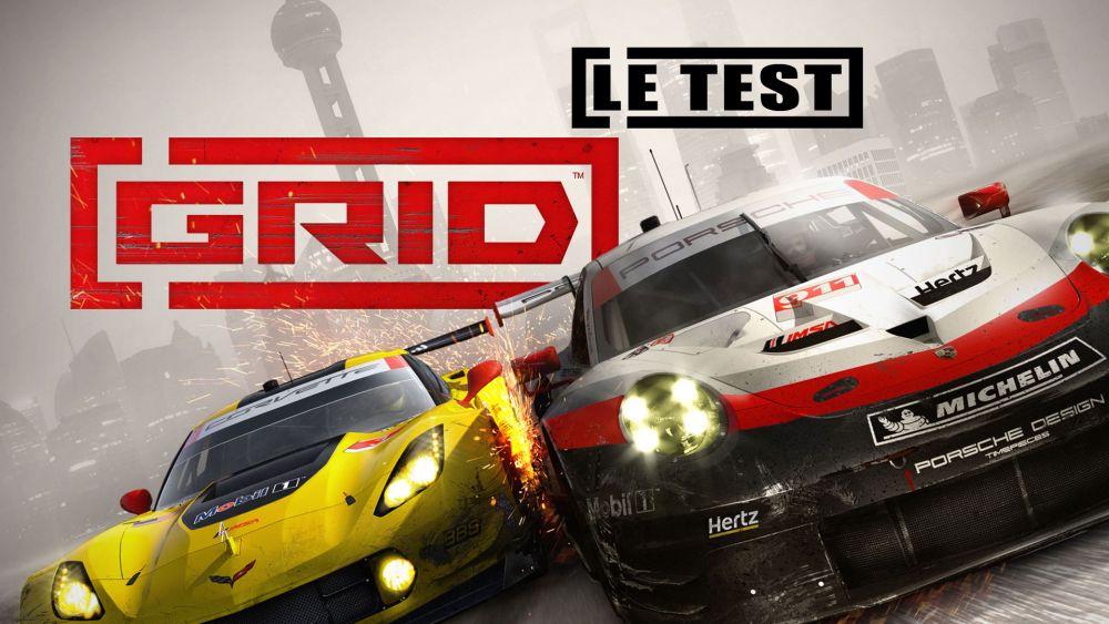 Image de couverture de [Test] Grid - PS4 - plus c'est bourrin, plus ça fait du bien !