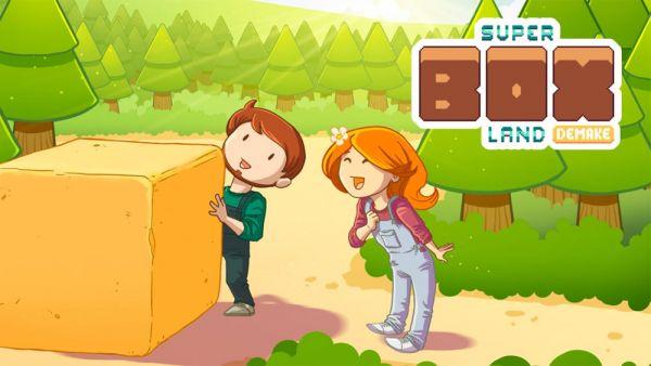 [Test éclair] Super Box Land Demake - PS Vita - Le puzzle game qui déménage
