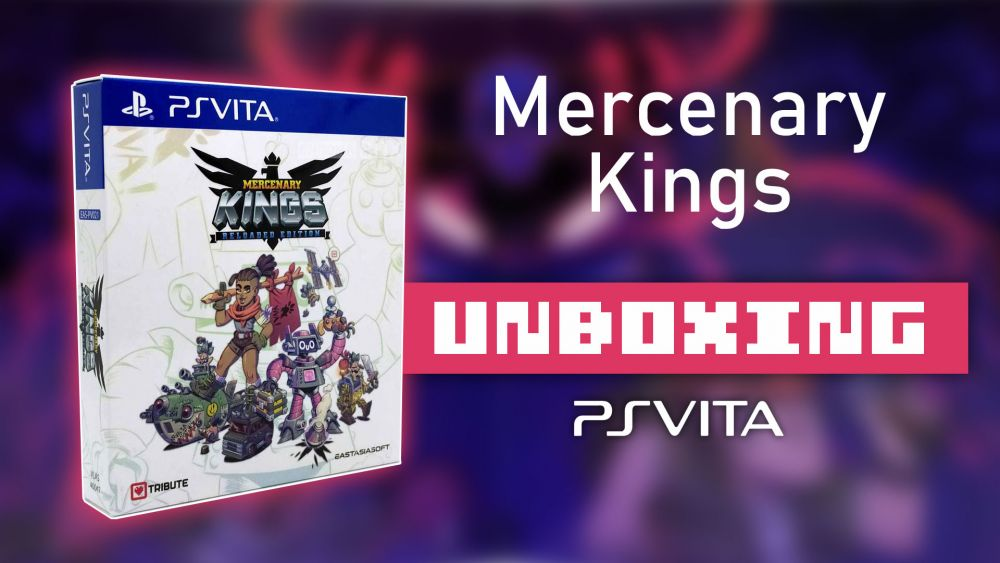Image de couverture de [Unboxing] Mercenary Kings Limited Edition sur PS Vita